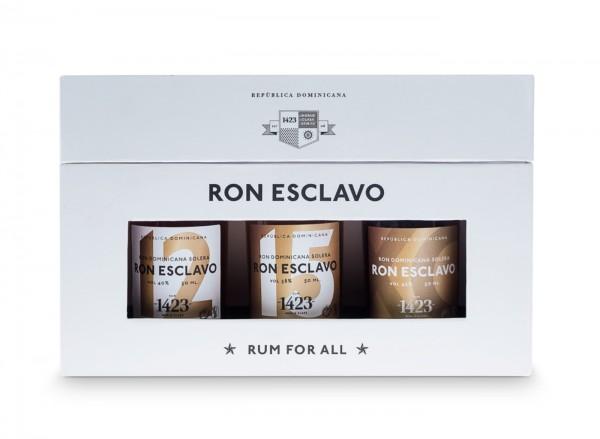 Ron Esclavo Dominicana 3er Geschenkbox