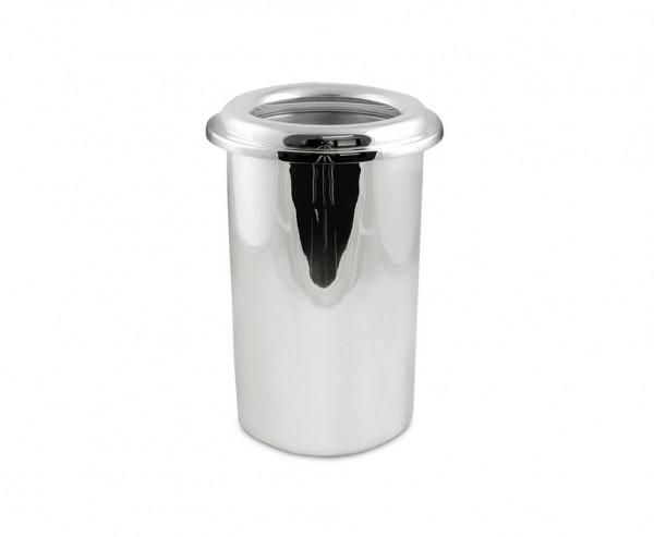 Flaschenkühler Yvo mit doppelwandigem Einsatz, schwerversilbert, Ø 15 cm