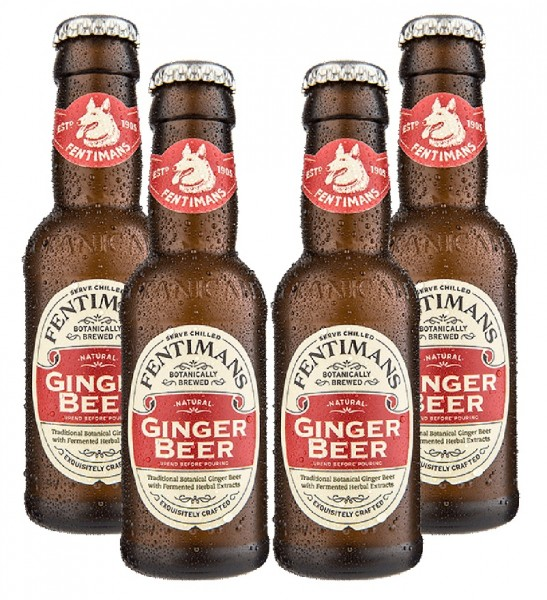 Fentimans Ginger Beer 4 x 200ml