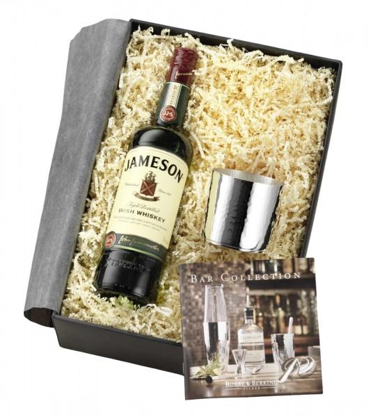 Robbe & Berking Martelé Whiskey Geschenkset