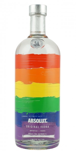 Absolut Vodka Rainbow Limited Edition