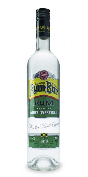 Worthy Park Rum Bar Premium White Overproof Rum