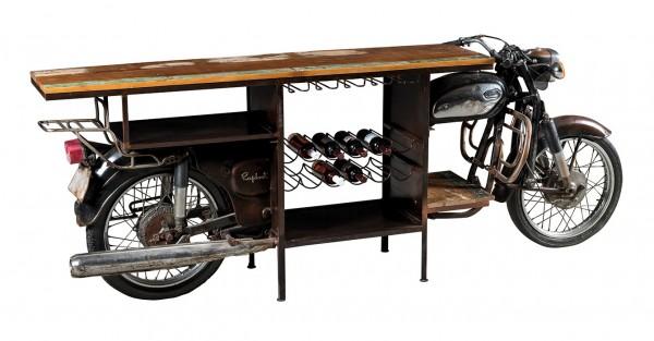 Motorrad Bar Motorbike