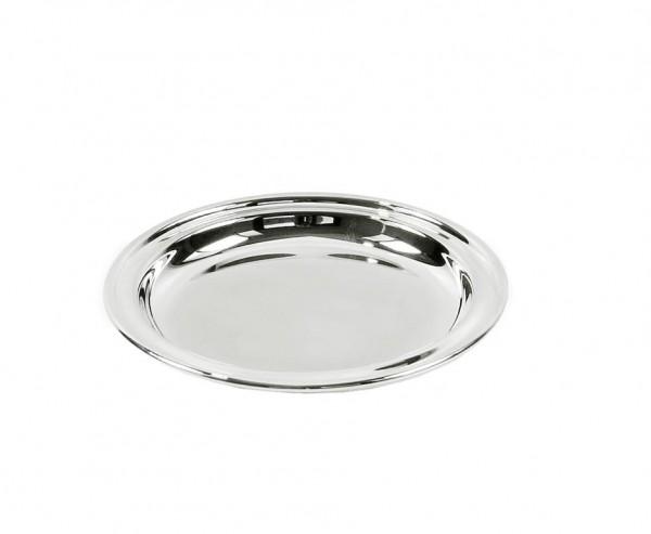 2er Set Untersetzer Gläseruntersetzer Astoria, edel versilbert, Ø 11 cm