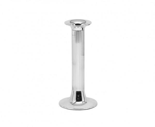 Leuchter Kerzenleuchter Farol, edel versilbert, anlaufgeschützt, Höhe 21 cm