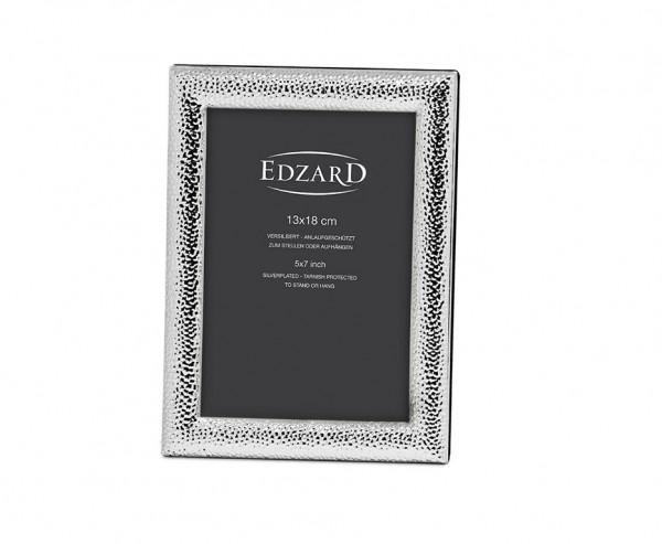 Fotorahmen Marsala für Fotos 13 x 18 cm, edel versilbert, anlaufgeschützt, mit 2 Aufhängern