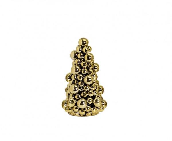 Deko-Tannenbaum Gold, Höhe 22 cm
