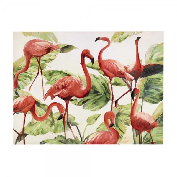 Flamingos Leinwand Bild