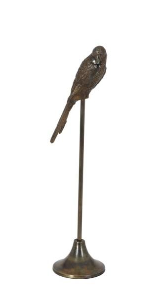 Ornament Parrot Antik-Bronze
