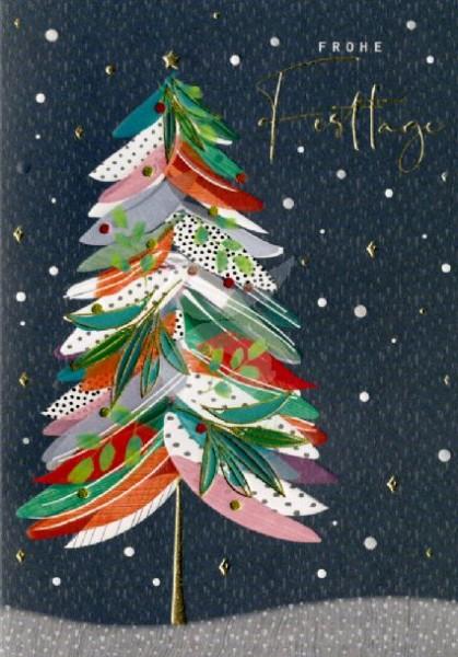 Frohe Festtage (Weihnachtsbaum 1)