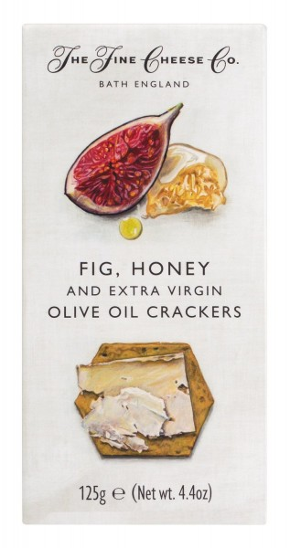 Fine Cheese Co. Fig, Honey & Extra Virgin Olive Oil Crackers