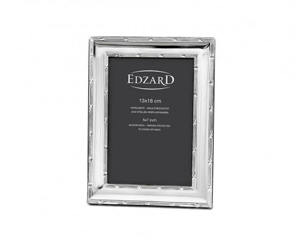 Fotorahmen Melissa für Foto 13 x 18 cm, edel versilbert, anlaufgeschützt, mit 2 Aufhängern