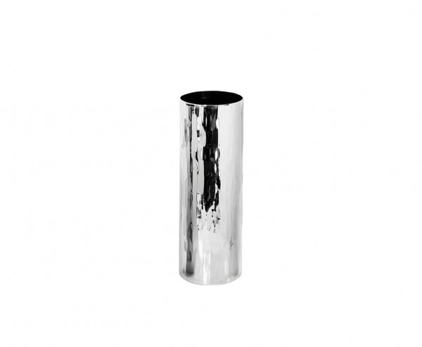 Vase Dekovase Ella, Edelstahl hochglanzpoliert, Höhe 30,5 cm, Ø 10 cm