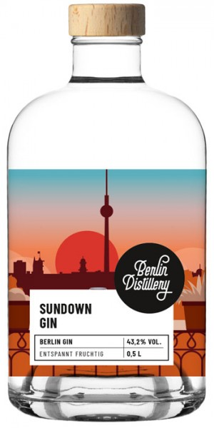 Berlin Distillery Sundown Gin Mini