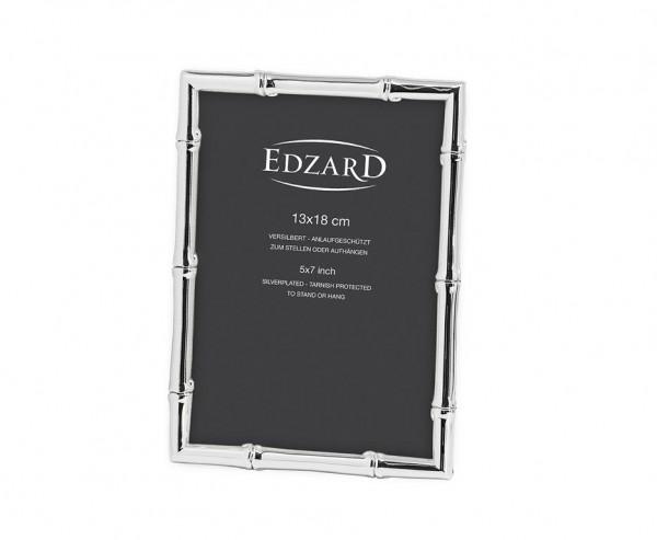 Fotorahmen Imola für Foto 13 x 18 cm, edel versilbert, anlaufgeschützt, mit 2 Aufhängern