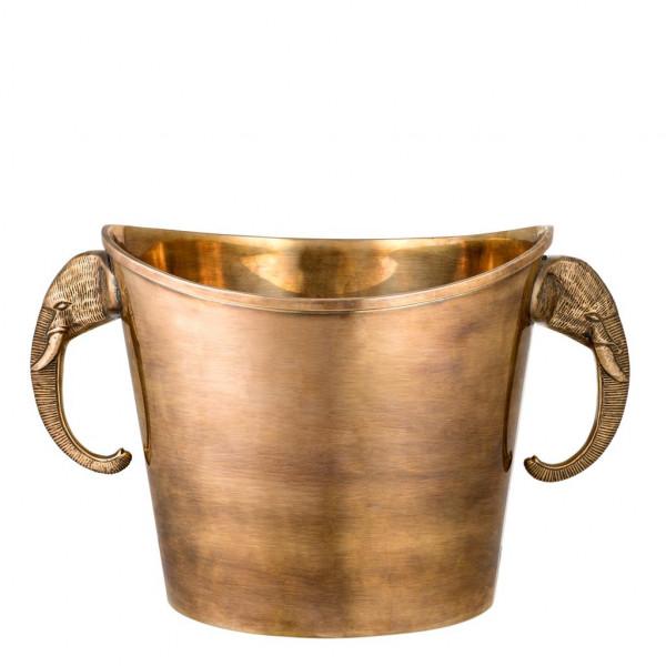 Weinkühler Maharaja Vintage Brass