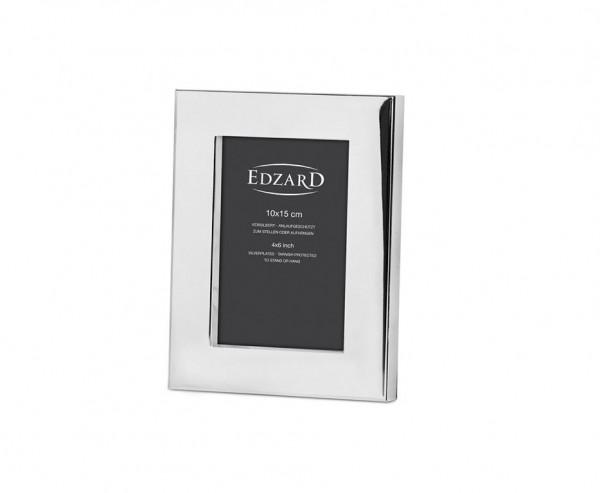 Fotorahmen Udine für Foto 10 x 15 cm, edel versilbert, anlaufgeschützt, mit 2 Aufhängern