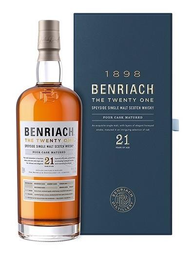 Benriach 21 Jahre Single Malt Scotch Whisky