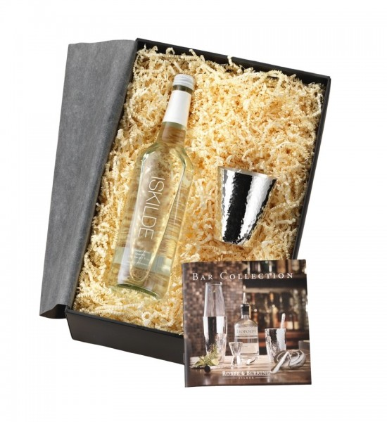 Robbe & Berking Martelé Gin-, Wasser-Geschenkset