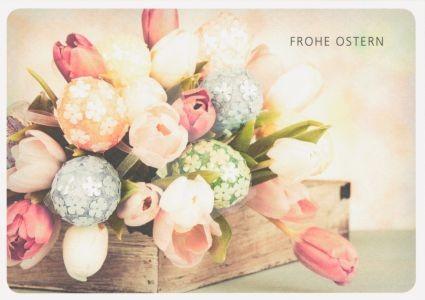 Frohe Ostern Kunstkarte