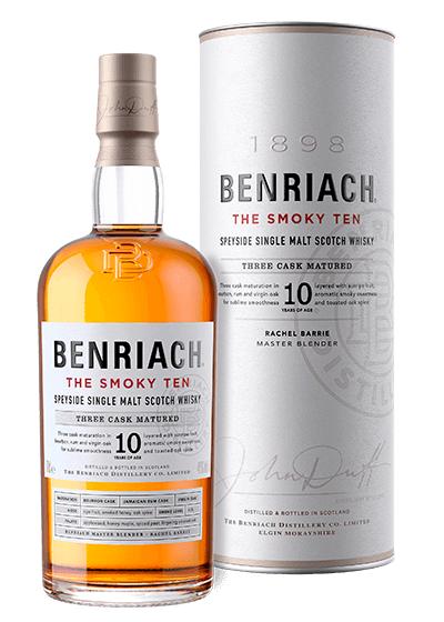 Benriach The Smokey Ten Single Malt Scotch Whisky