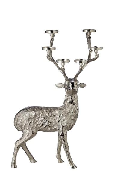 Kerzenhalter Kerzenleuchter Geweih Hirsch H 90 cm