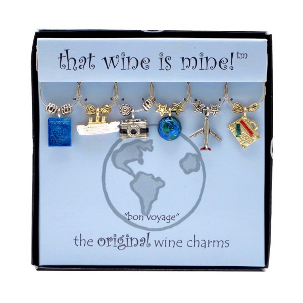 That Wine is Mine Bon Voyage Wine Charms