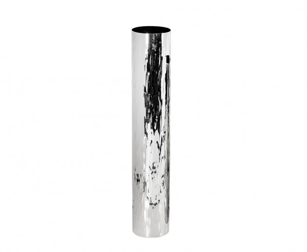 Vase Dekovase Ella, Edelstahl hochglanzpoliert, Höhe 56,5 cm, Ø 10 cm