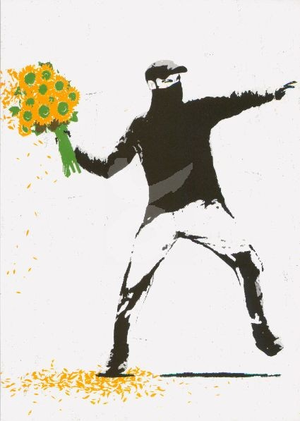 Banksy Time for a Change