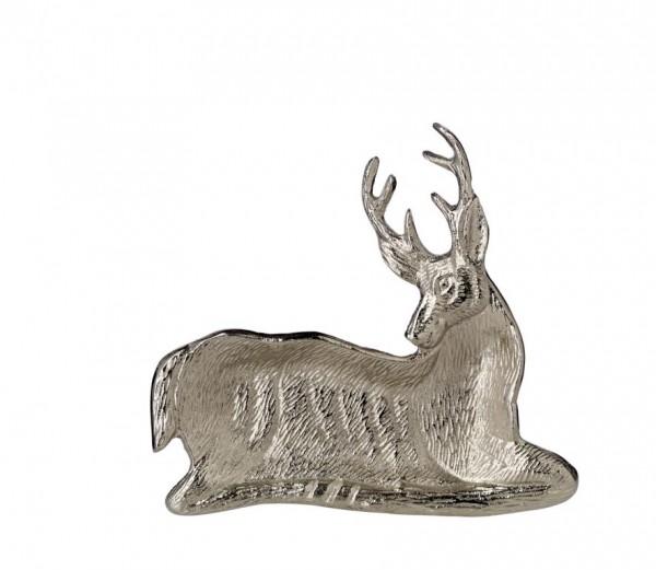 Schale Dekoschale Servierschale Hirsch L 22 cm
