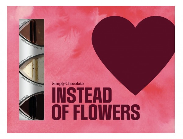 Instead of Flowers Schokoladen