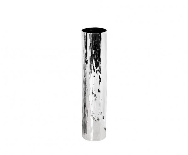 Vase Dekovase Ella, Edelstahl hochglanzpoliert, Höhe 46 cm, Ø 10 cm