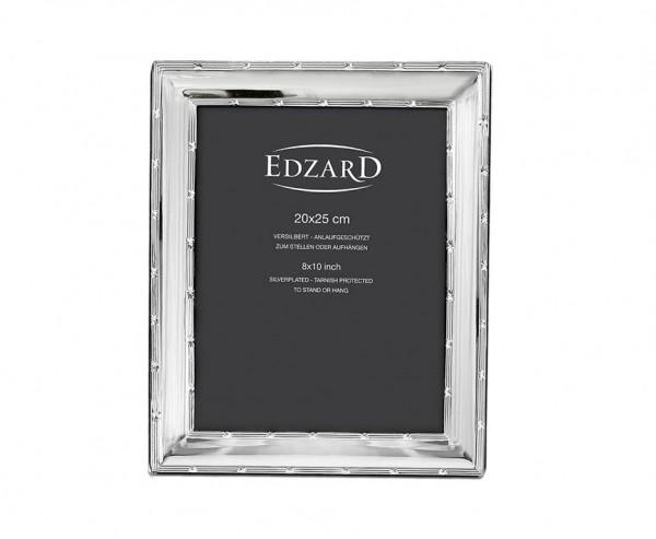 Fotorahmen Melissa für Foto 20 x 25 cm, edel versilbert, anlaufgeschützt, mit 2 Aufhängern