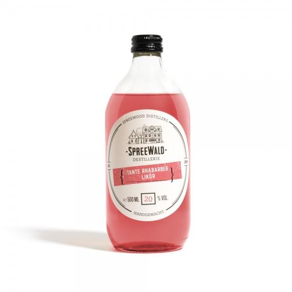 Spreewood Distillers Tante Rhabarber Likör