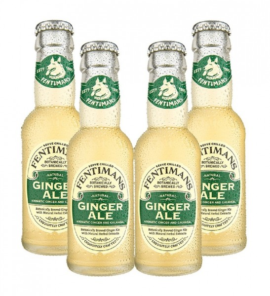 Fentimans Ginger Ale 4 x 200ml
