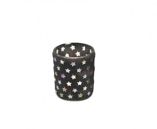 Teelichtleuchter Sterne H 8 cm
