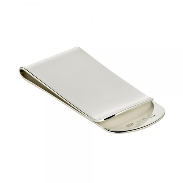 Geldscheinklammer Geldklammer, Echtsilber 925/000, Länge 6 cm, Silbergewicht 20 Gramm