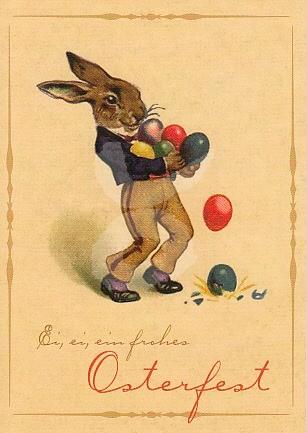 Ei Ei Ein Frohes Osterfest Kunstkarte