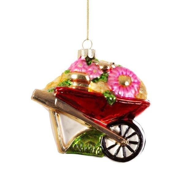 Wheelbarrow Ornament