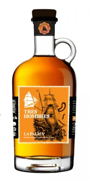 Tres Hombres Ed. 023 La Palma Fuerte X Rum Mini