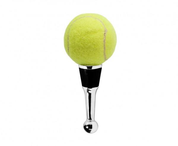 SALE Flaschenverschluss Tennis für Champagner, Wein und Sekt, Höhe 11 cm, Muranoglas-Art, Handarbeit
