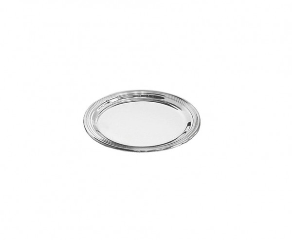 Gläserteller Faden, Echtsilber 925/000, Ø 10 cm, Silbergewicht 23 Gramm