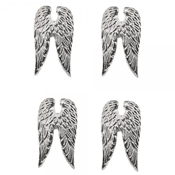 Kerzenpin Wings H 7 cm 4er Satz