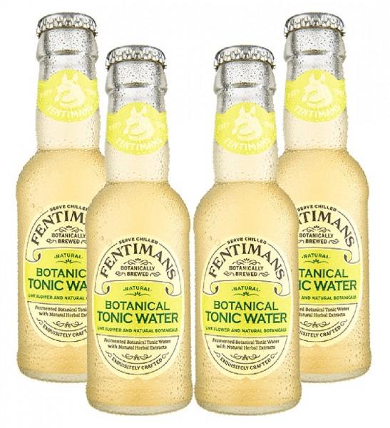 Fentimans Botanical Tonic Water 4 x 200ml
