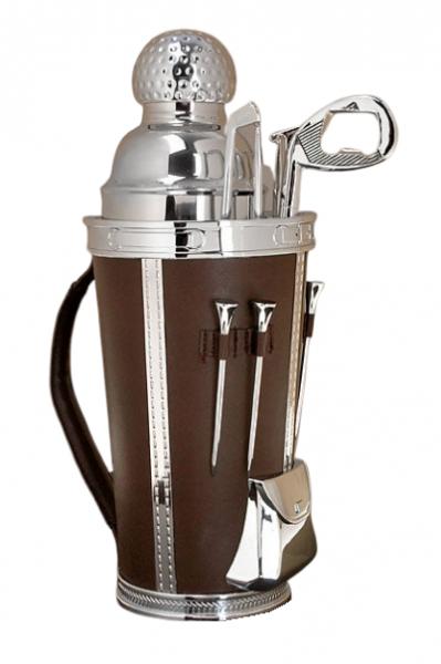 Godinger Golf Tee Time Cocktailshaker Set