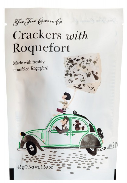Fine Cheese Co. Crackers with Roquefort