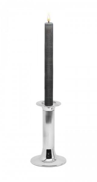 Leuchter Kerzenleuchter Farol, edel versilbert, anlaufgeschützt, Höhe 16 cm