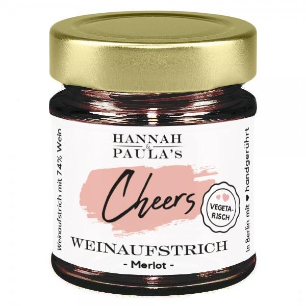 Hannah und Paulas Weinaufstrich Merlot