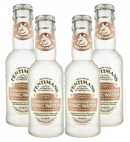 Fentimans Connoisseurs Tonic Water 4 x 200ml