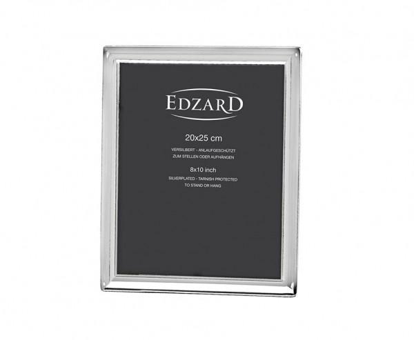 Fotorahmen Bilderrahmen Terni für Foto 20 x 25 cm edel versilbert, anlaufgeschützt, mit 2 Aufhängern